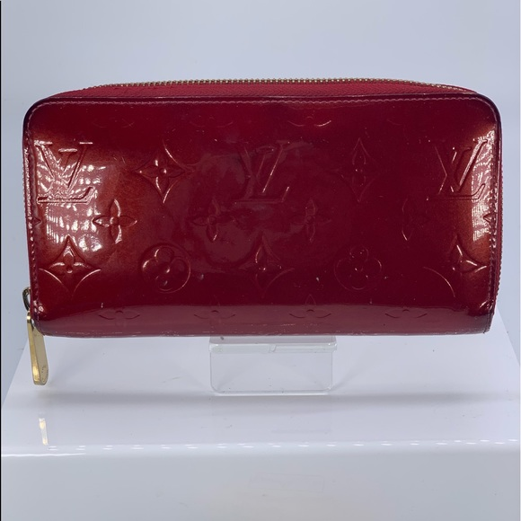 Louis Vuitton Handbags - Louis Vuitton Red Vernis Zippy Wallet